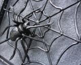 Kovácsolt pókháló részlete