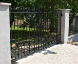 modern kovácsolt kerítés (Budakeszi)