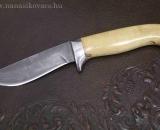 Damaszk kés buxus nyéllel