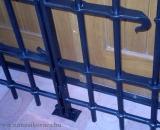 Borozó ajtó rács  részlete (Debrecen)