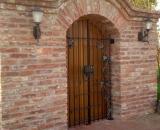 Borozó ajtó rács (Debrecen)