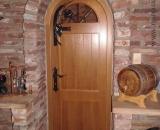 Borozó ajtó kilincs és rács (Debrecen)