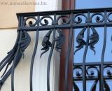 Akantusz leveles korlát részlet (Debrecen)